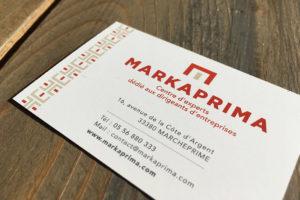 Carte de visite Markaprima