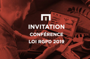 Invitation conférence loi RGPD 2019